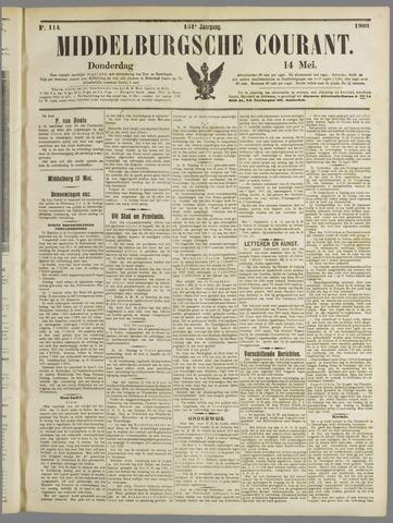 Middelburgsche Courant 1908-05-14