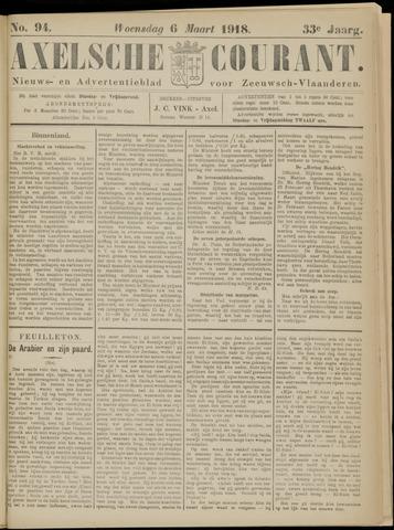 Axelsche Courant 1918-03-06