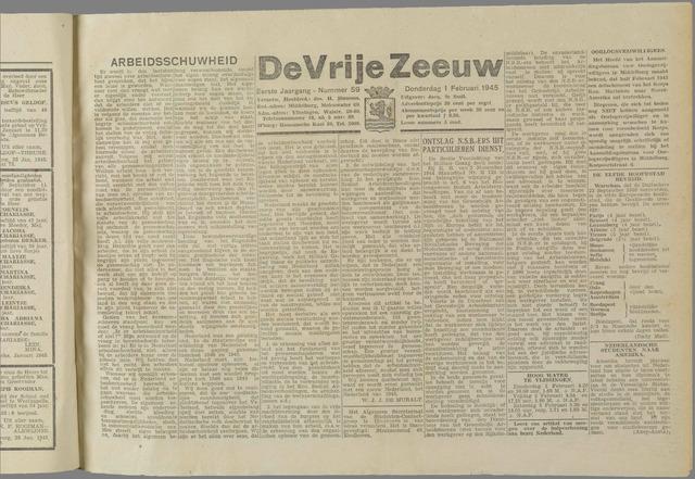 de Vrije Zeeuw 1945-02-01