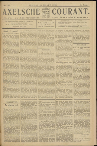 Axelsche Courant 1930-03-28