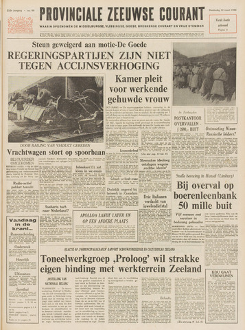 Provinciale Zeeuwse Courant 1969-03-13