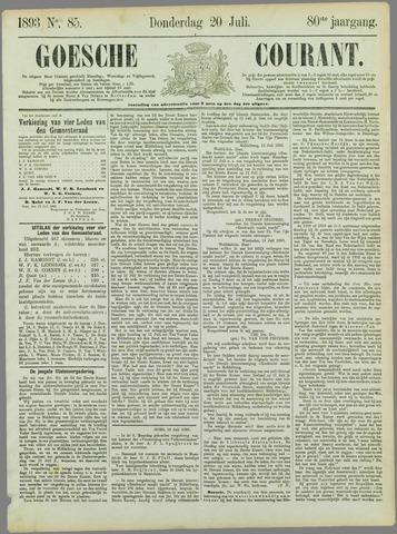 Goessche Courant 1893-07-20