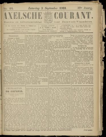 Axelsche Courant 1921-09-03