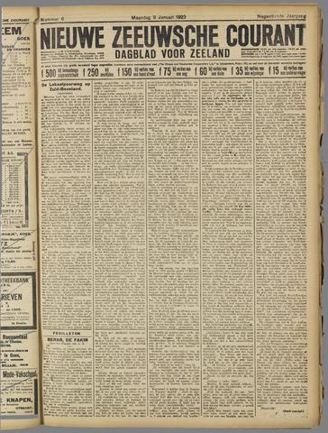 Nieuwe Zeeuwsche Courant 1923-01-08