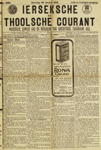 Ierseksche en Thoolsche Courant 1912-01-20