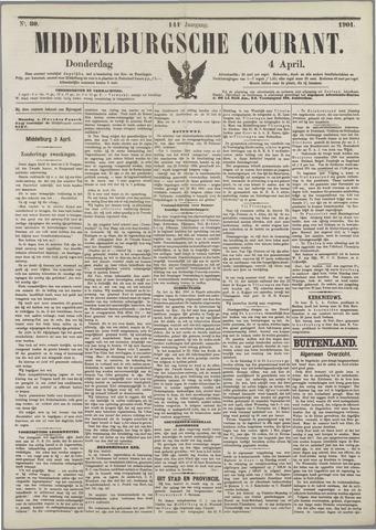 Middelburgsche Courant 1901-04-04
