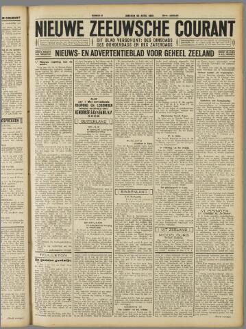 Nieuwe Zeeuwsche Courant 1930-04-29