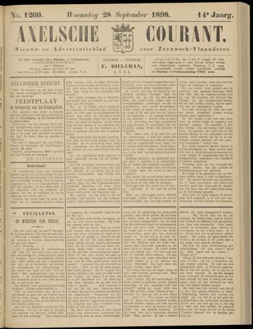 Axelsche Courant 1898-09-28