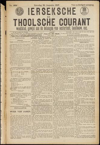 Ierseksche en Thoolsche Courant 1917-08-25