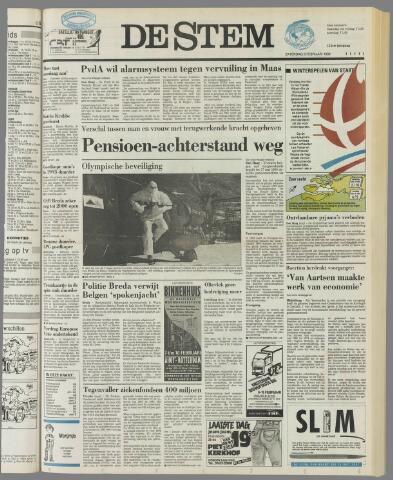 de Stem 1992-02-08