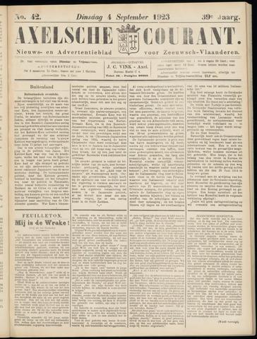 Axelsche Courant 1923-09-04