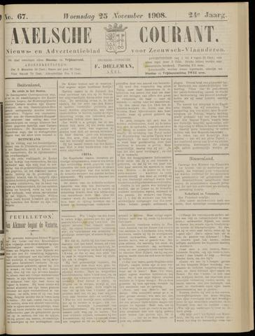 Axelsche Courant 1908-11-25