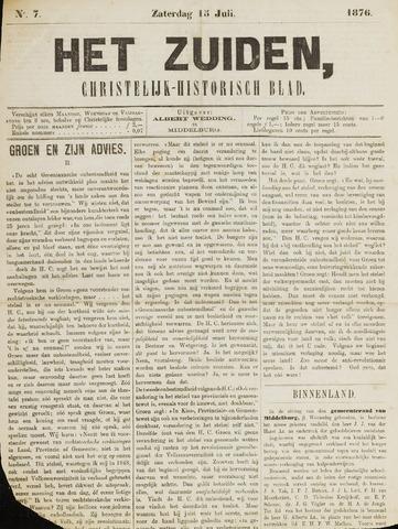 Het Zuiden, Christelijk-historisch blad 1876-07-15