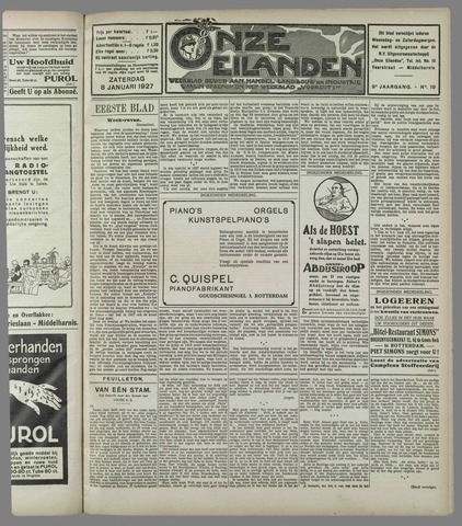 Onze Eilanden 1927-01-08