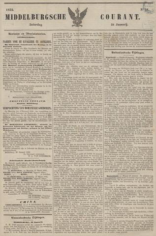 Middelburgsche Courant 1852-01-24