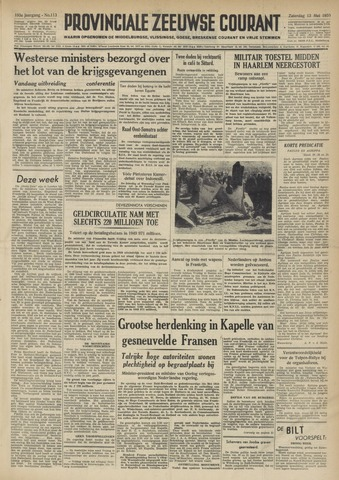 Provinciale Zeeuwse Courant 1950-05-13