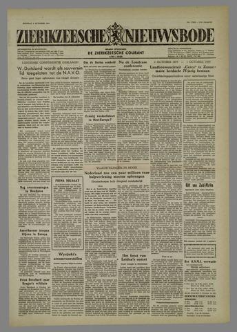Zierikzeesche Nieuwsbode 1954-10-05