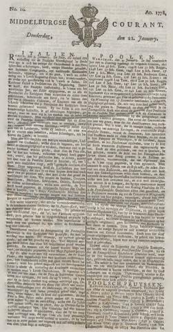Middelburgsche Courant 1778-01-22