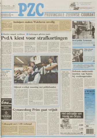Provinciale Zeeuwse Courant 1995-11-08
