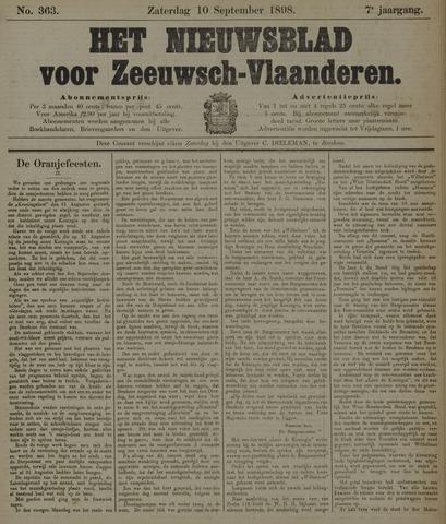 Nieuwsblad voor Zeeuwsch-Vlaanderen 1898-09-10