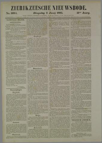 Zierikzeesche Nieuwsbode 1885-06-02