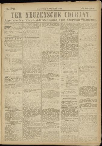 Ter Neuzensche Courant. Algemeen Nieuws- en Advertentieblad voor Zeeuwsch-Vlaanderen / Neuzensche Courant ... (idem) / (Algemeen) nieuws en advertentieblad voor Zeeuwsch-Vlaanderen 1918-10-05