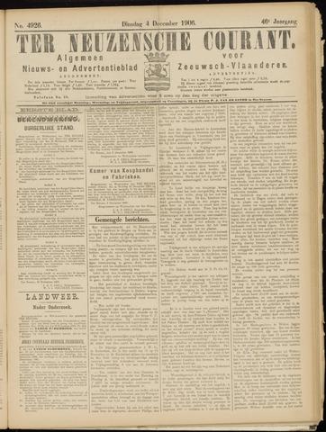 Ter Neuzensche Courant. Algemeen Nieuws- en Advertentieblad voor Zeeuwsch-Vlaanderen / Neuzensche Courant ... (idem) / (Algemeen) nieuws en advertentieblad voor Zeeuwsch-Vlaanderen 1906-12-04