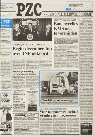 Provinciale Zeeuwse Courant 1987-10-31