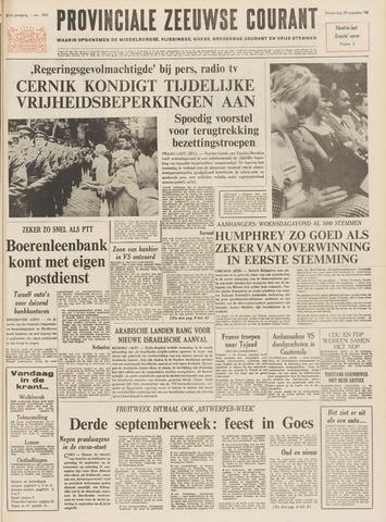 Provinciale Zeeuwse Courant 1968-08-29