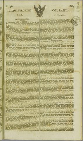 Middelburgsche Courant 1825-08-11