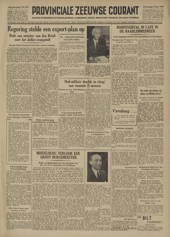 Provinciale Zeeuwse Courant 1949-09-07