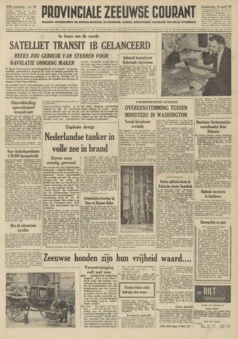 Provinciale Zeeuwse Courant 1960-04-14