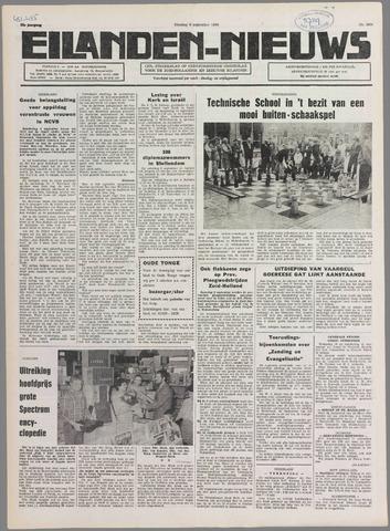 Eilanden-nieuws. Christelijk streekblad op gereformeerde grondslag 1980-09-09