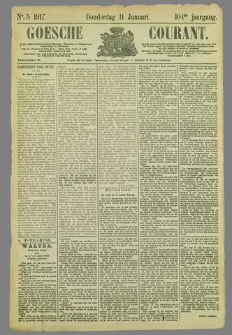 Goessche Courant 1917-01-11