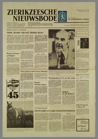 Zierikzeesche Nieuwsbode 1972-07-06