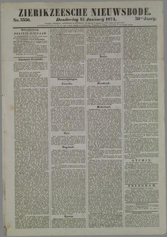 Zierikzeesche Nieuwsbode 1874-01-15