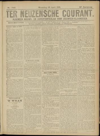 Ter Neuzensche Courant. Algemeen Nieuws- en Advertentieblad voor Zeeuwsch-Vlaanderen / Neuzensche Courant ... (idem) / (Algemeen) nieuws en advertentieblad voor Zeeuwsch-Vlaanderen 1926-04-26