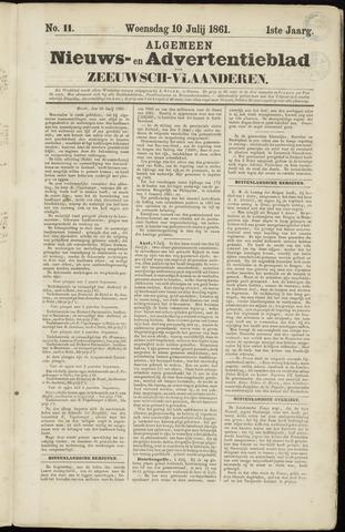 Ter Neuzensche Courant. Algemeen Nieuws- en Advertentieblad voor Zeeuwsch-Vlaanderen / Neuzensche Courant ... (idem) / (Algemeen) nieuws en advertentieblad voor Zeeuwsch-Vlaanderen 1861-07-10