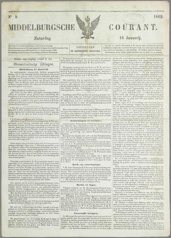 Middelburgsche Courant 1862-01-18
