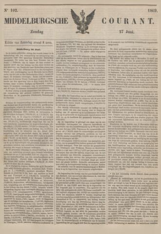 Middelburgsche Courant 1869-06-27