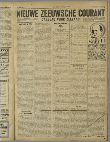 Nieuwe Zeeuwsche Courant 1921-01-04