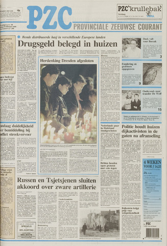 Provinciale Zeeuwse Courant 1995-02-14