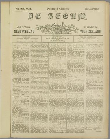 De Zeeuw. Christelijk-historisch nieuwsblad voor Zeeland 1902-08-05