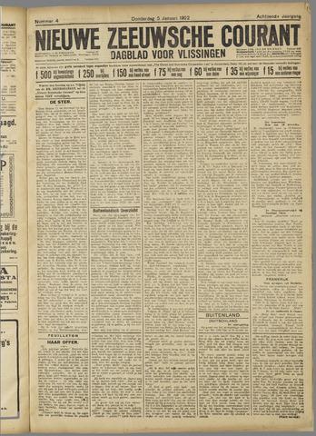 Nieuwe Zeeuwsche Courant 1922-01-05