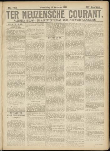 Ter Neuzensche Courant. Algemeen Nieuws- en Advertentieblad voor Zeeuwsch-Vlaanderen / Neuzensche Courant ... (idem) / (Algemeen) nieuws en advertentieblad voor Zeeuwsch-Vlaanderen 1921-10-19