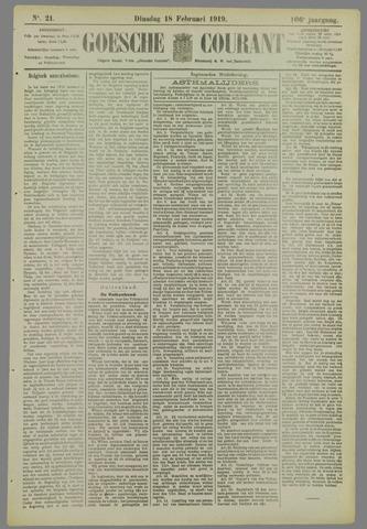 Goessche Courant 1919-02-18