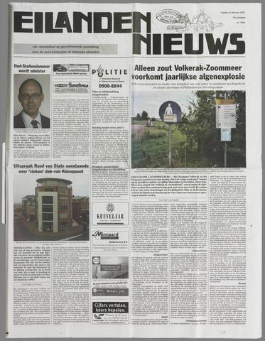 Eilanden-nieuws. Christelijk streekblad op gereformeerde grondslag 2007-02-16