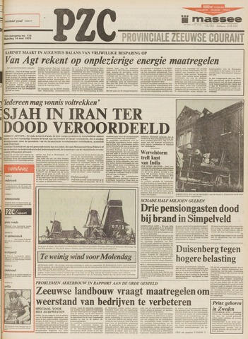 Provinciale Zeeuwse Courant 1979-05-14