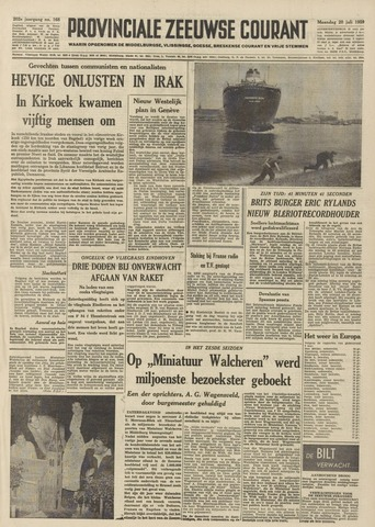Provinciale Zeeuwse Courant 1959-07-20