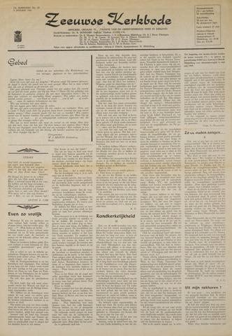 Zeeuwsche kerkbode, weekblad gewijd aan de belangen der gereformeerde kerken/ Zeeuwsch kerkblad 1969-01-09